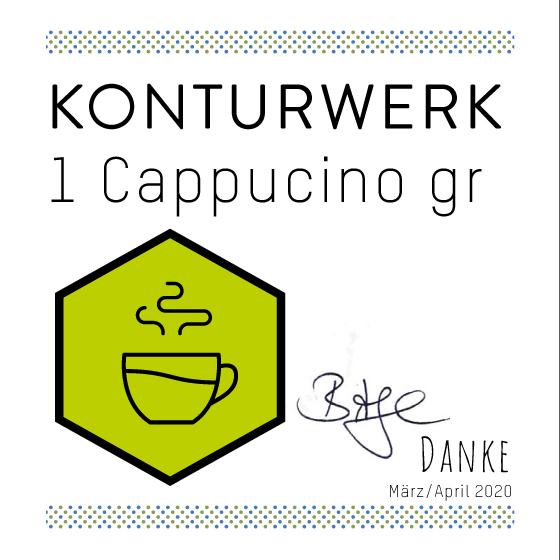Virtueller Cappuccino gr